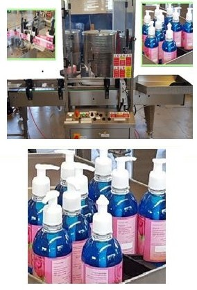 Liquid Soap Small Labelling Machine